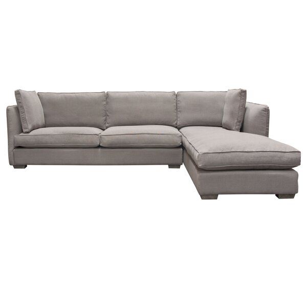 Hope Right Hand Facing Sectional By Diamond Sofa