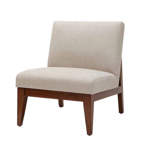 Emanuel Slant Back Slipper Chair by Mistana