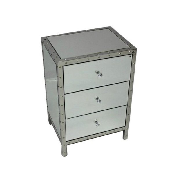 Carr 3 Drawer Nightstand by Rosdorf Park
