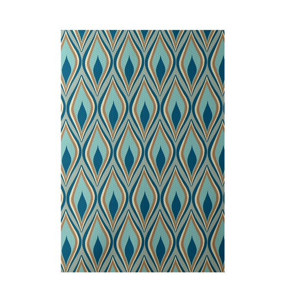 Green Indoor/Outdoor Area Rug by e by design