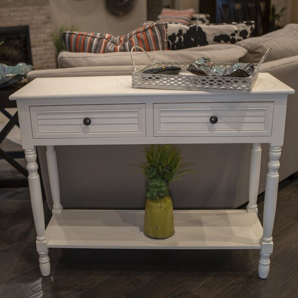 Pepe Simplify Shutter Console Table by Breakwater Bay Breakwater Bay