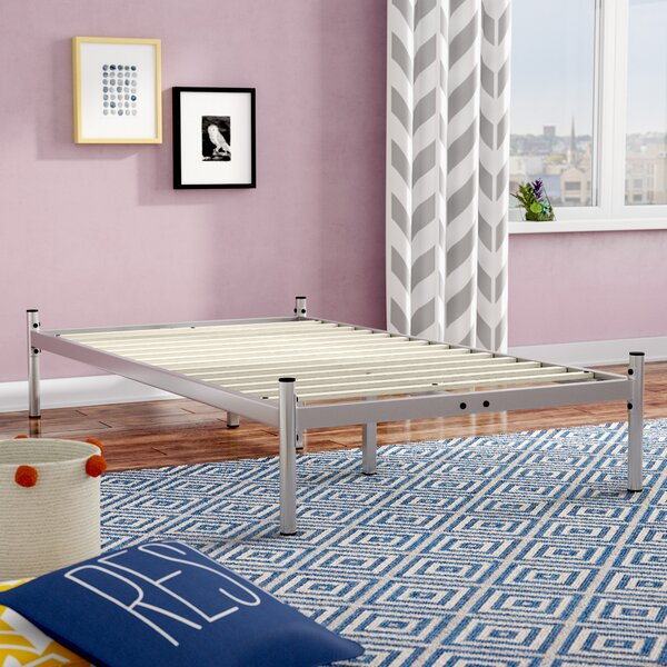 Barra Metal Platform Bed by Ebern Designs
