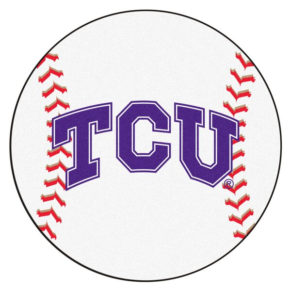 NCAA Texas Christian University Baseball Mat by FANMATS