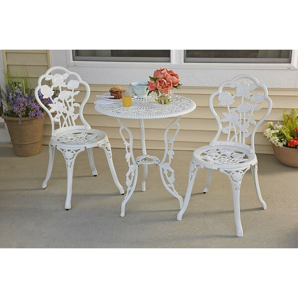Encline Garden 3 Piece Bistro Set by August Grove
