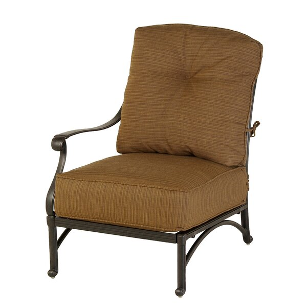 Merlyn Club Right Patio Chair by Fleur De Lis Living