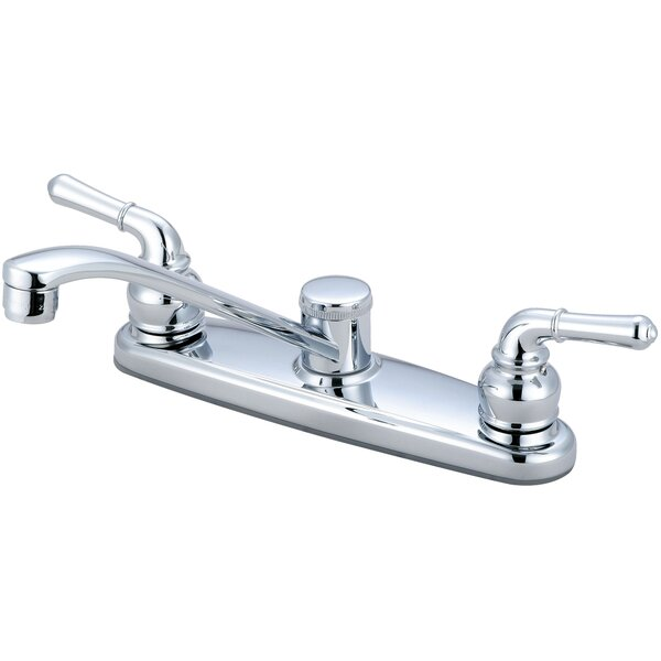 Double Handle Kitchen Faucet by Olympia Faucets