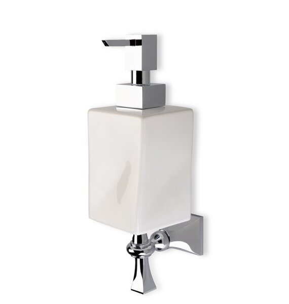 Prisma Classic Wall Mount Ceramic Soap Dispenser by Stilhaus by Nameeks