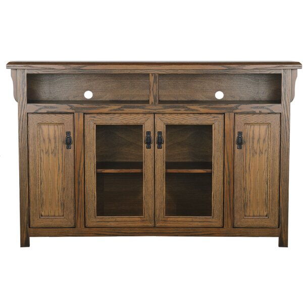 Huck Solid Wood TV Stand for TVs up to 88