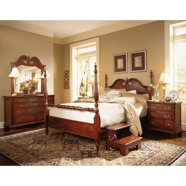 Staas Four Poster Bed by Astoria Grand