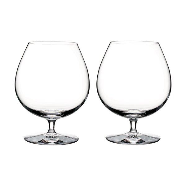Elegance Brandy 29 oz. Crystal Liqueur Glass (Set of 2) by Waterford