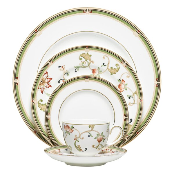 Oberon Bone China 5 Piece Place Setting, Service for 1 by Wedgwood
