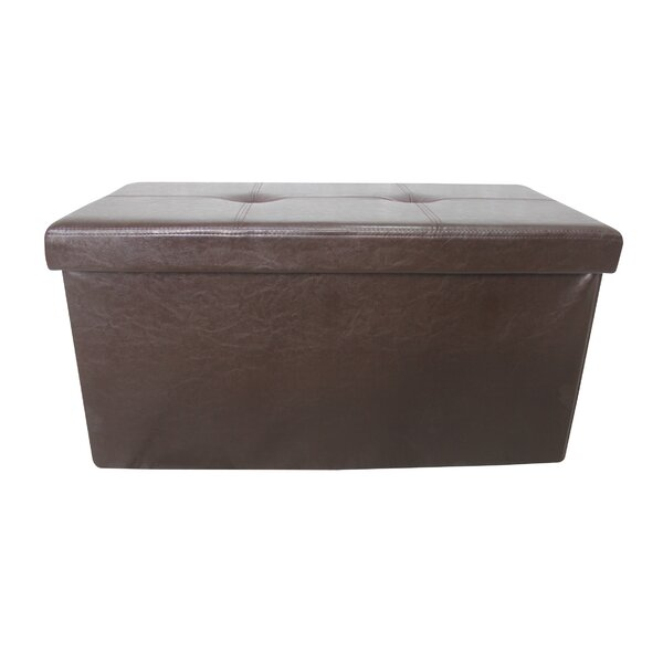 Christchurch Double Folding Tufted Storage Ottoman By Winston Porter Great price