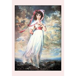 'Pinkie' by Sir Thomas Lawrence Painting Print by Buyenlarge