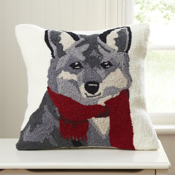 Frankie Fox Hooked Pillow by Birch Lane Kids™