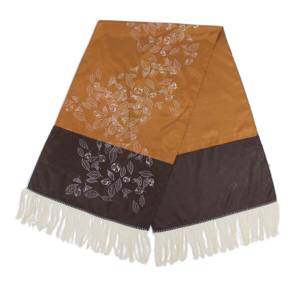 Silk Table Runner by Novica