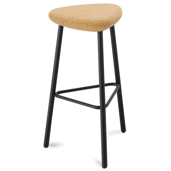 Fackler Adjustable Height Swivel Bar Stool By Ebern Designs