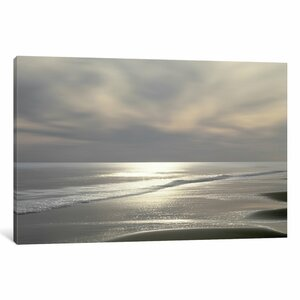 'Silver Light' Photographic Print on Canvas by East Urban Home