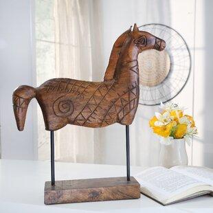 Wooden Horse Decor Wayfair
