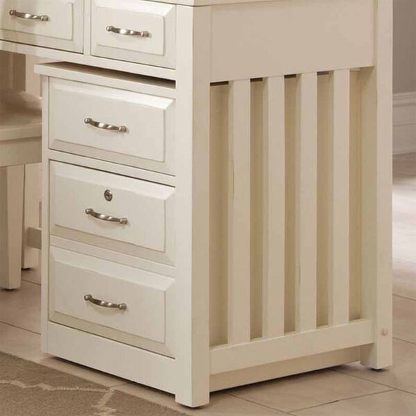 Nicolette 2-Drawer Mobile File Cabinet by Darby Home Co