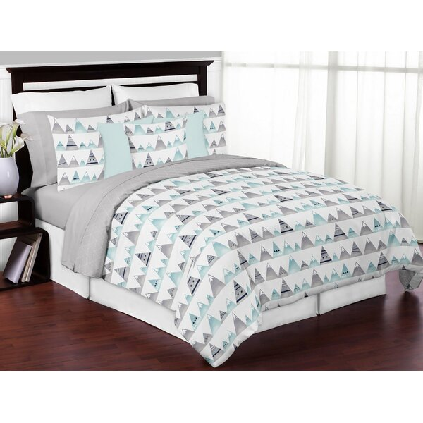 Mountains 3 Piece Queen Comforter Set by Sweet Jojo Designs