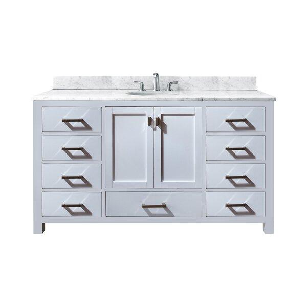 Poyen 61 Single Bathroom Vanity Set by Charlton Home