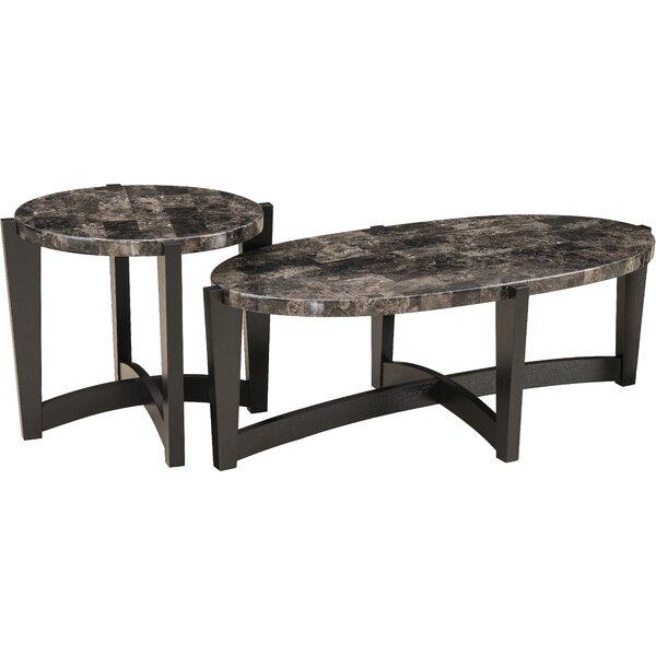 Isobe 2 Piece Coffee Table Set by Brayden Studio