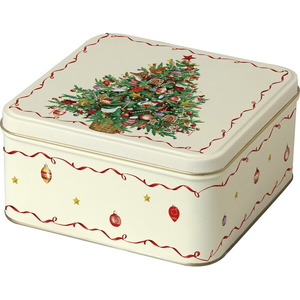 Christmas Tree Cookie Tin by Boston International