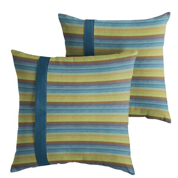 Vanhouten Indoor/Outdoor Throw Pillow (Set of 2) by Red Barrel Studio