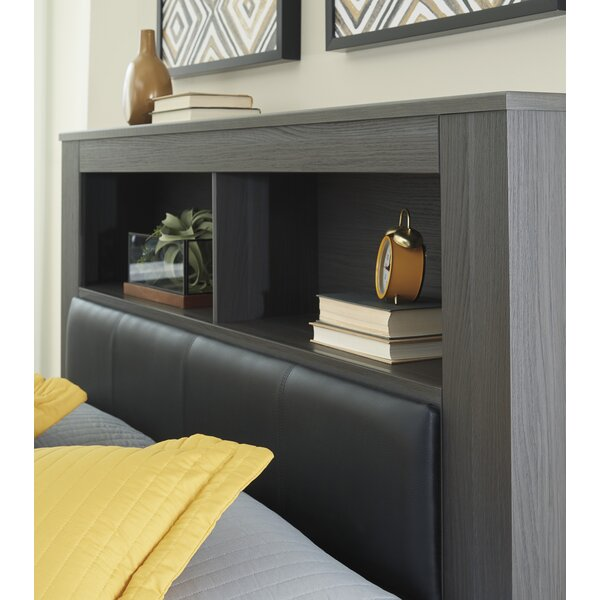 Halstead Upholstered Panel Headboard by Orren Ellis Orren Ellis