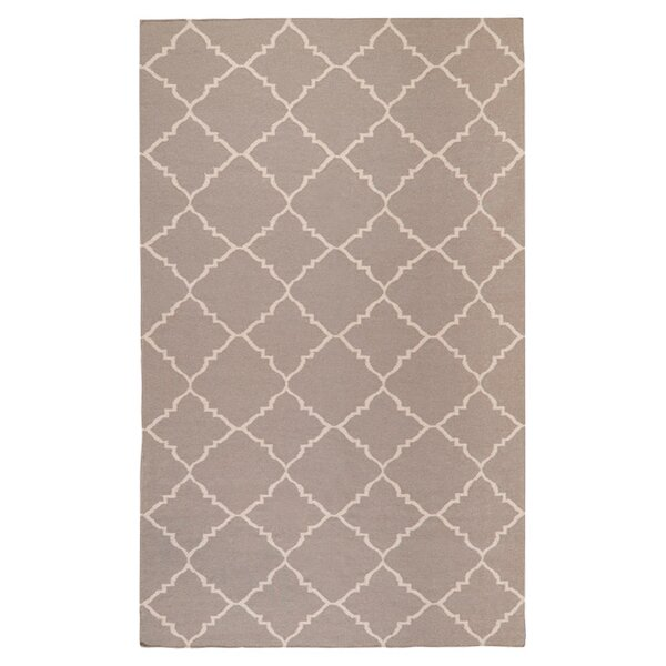 Darby Putty Hand-Woven Area Rug by Birch Lane™