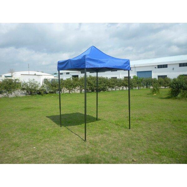 5 Ft. W x 5 Ft. D Steel Pop-Up Canopy by American Phoenix