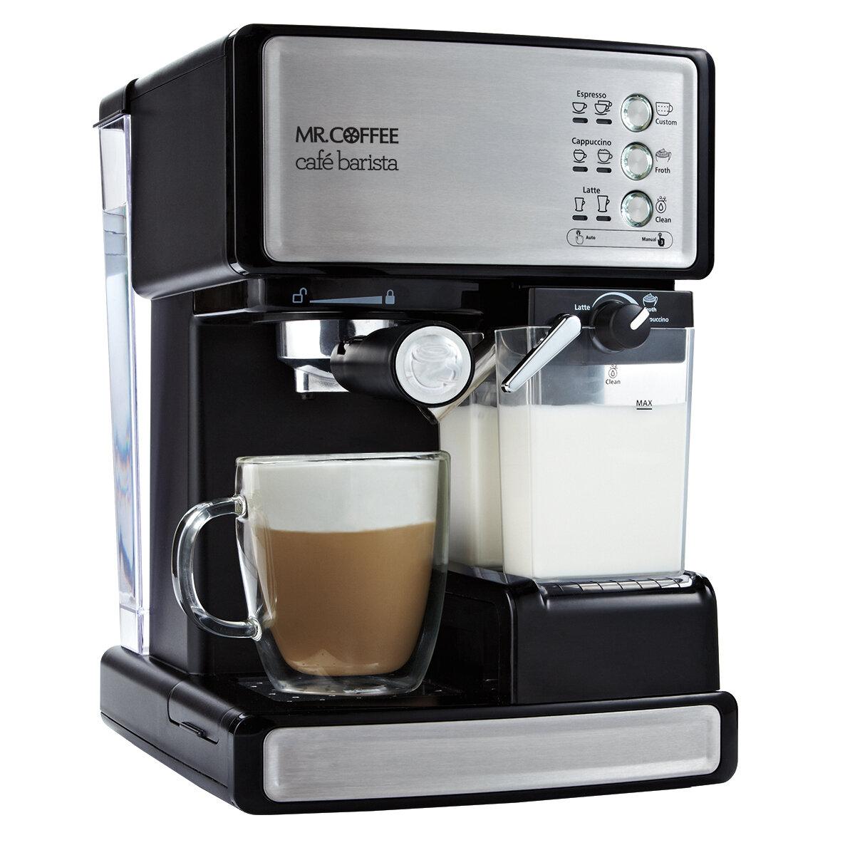 Mr Coffee Cafe Barista Espresso Maker Reviews Wayfair
