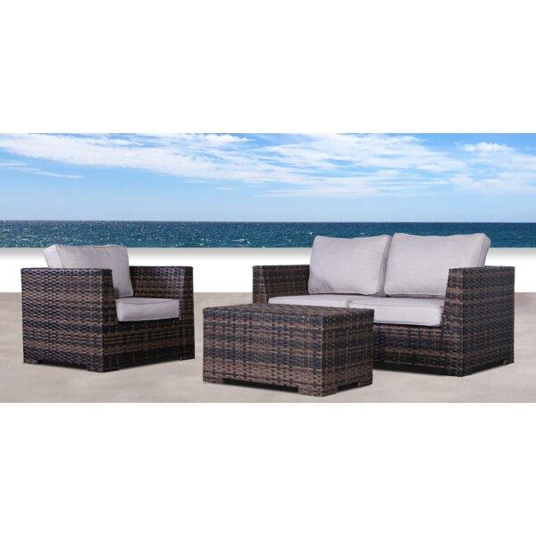 Pierson Resort 3 Piece Sofa Set with Cushions by Brayden Studio