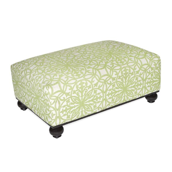 Wickham Gate Outdoor Ottoman with Cushion by Inspired Visions