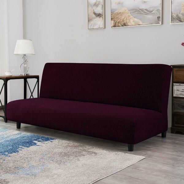Ilsswe Elastic Armless Box Cushion Futon Slipcover By Winston Porter