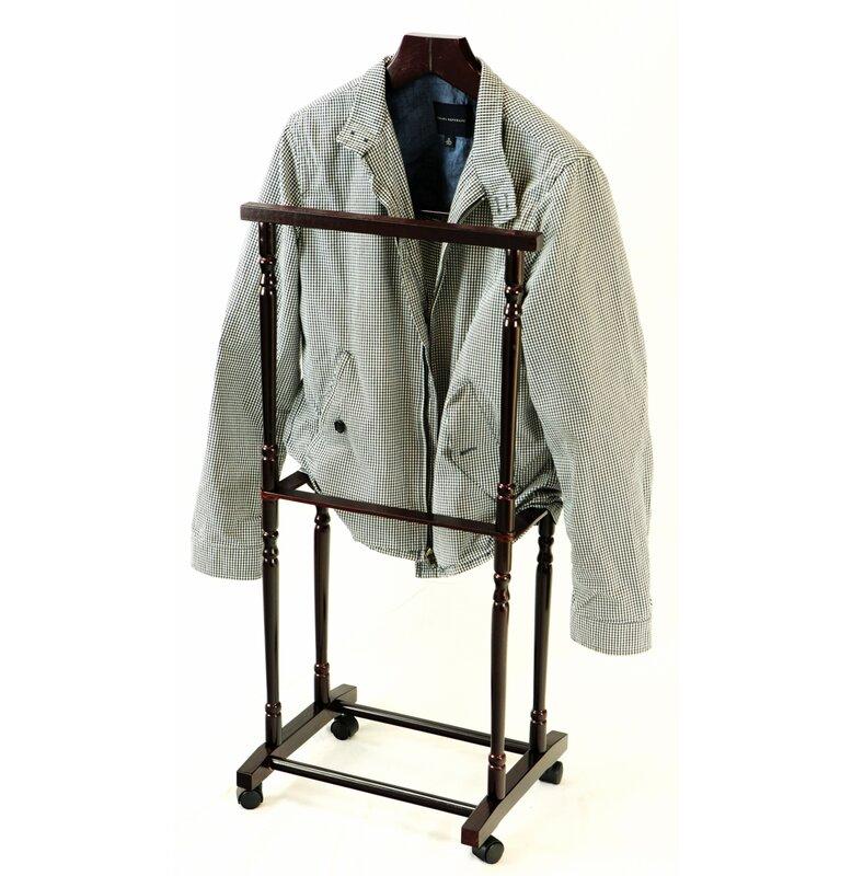 Men Suit Valet Stand With Suit Hanger
