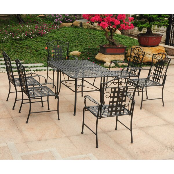 Doric 7 Piece Dining Set by Darby Home Co