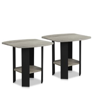 Alastair Simple End Table (Set of 2) by Winston Porter