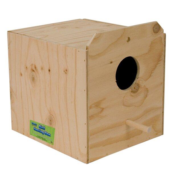 Cockatiel Nest Birdhouse by Ware Manufacturing