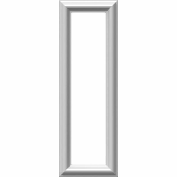 Ashford 24H x 8W x 1/2D Molded Classic Wainscot Wall Panel by Ekena Millwork