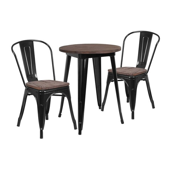 Mull 3 Piece Dining Set by Williston Forge