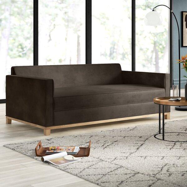 Mansfield Plush Deep Sofa by Mercury Row