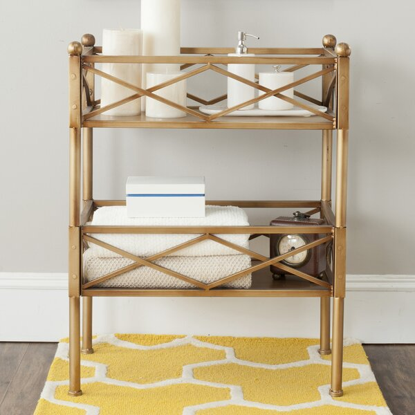 Review Jamese Etagere Bookcase