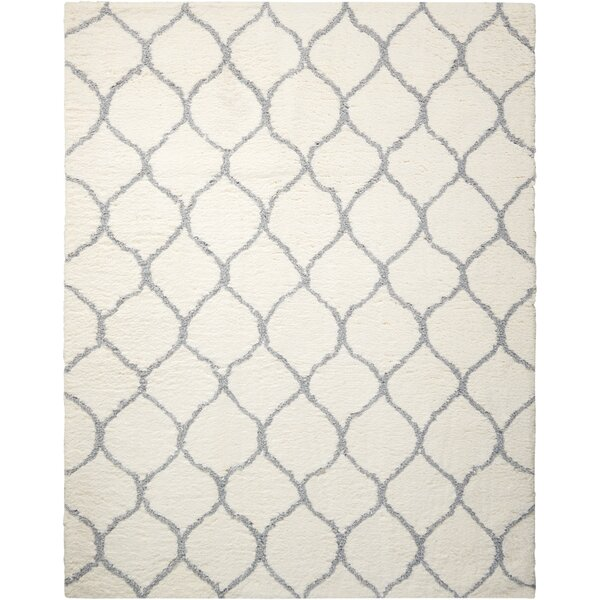 North Moore Hand-Tufted Ivory Area Rug by Brayden Studio