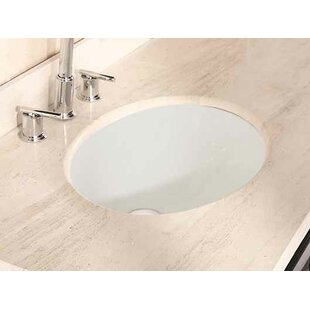 Online Reviews CUPC Ceramic Oval Undermount Bathroom Sink with Faucet and Overflow By Royal Purple Bath Kitchen