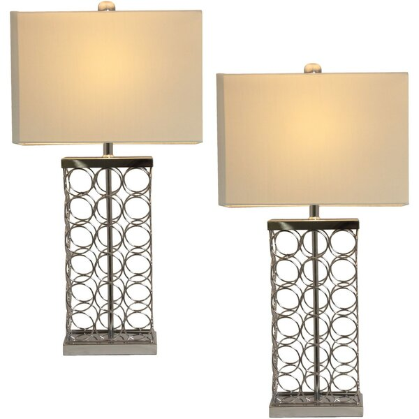Rings 30 Table Lamp (Set of 2) by Urban Designs