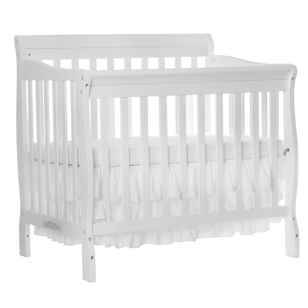 Clearfield 4-in-1 Convertible Mini Crib by Harriet Bee