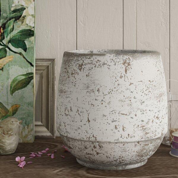 Cement Decorative Pot by Lark Manor