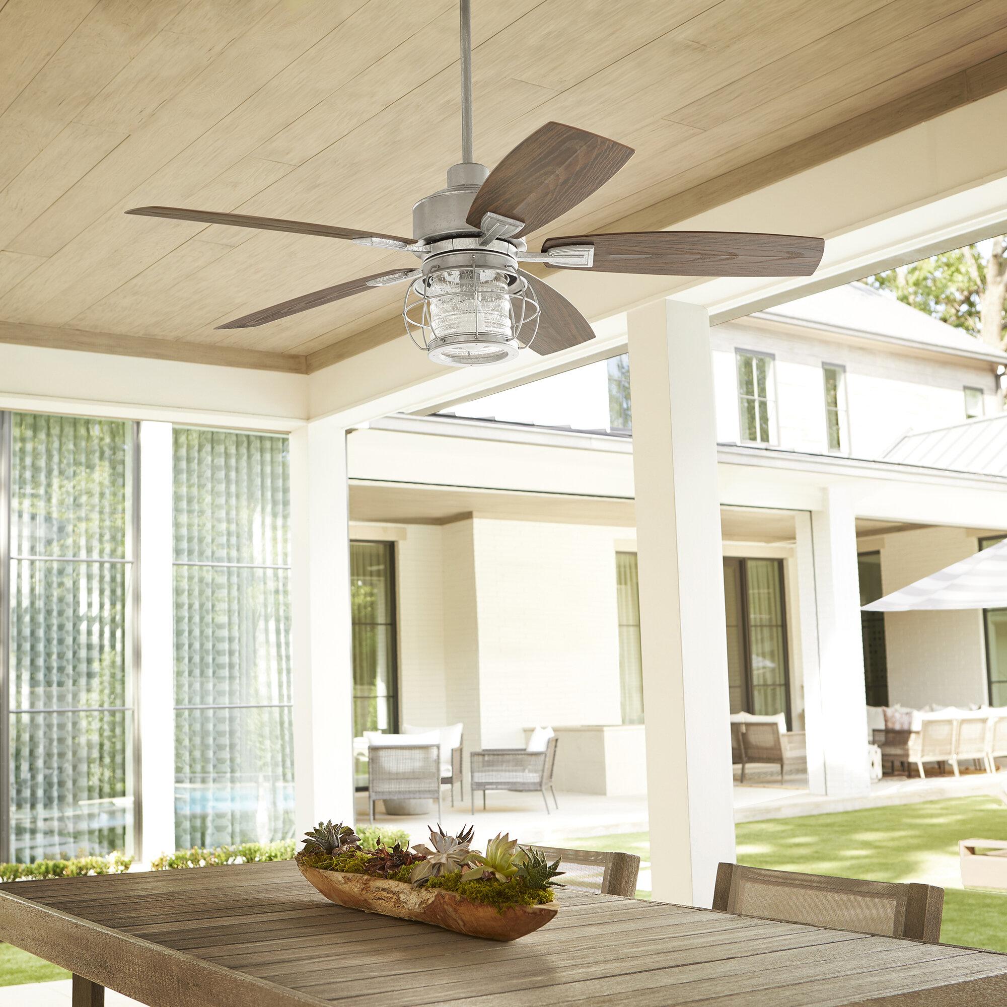52 Glazer 5 Blade Outdoor Ceiling Fan