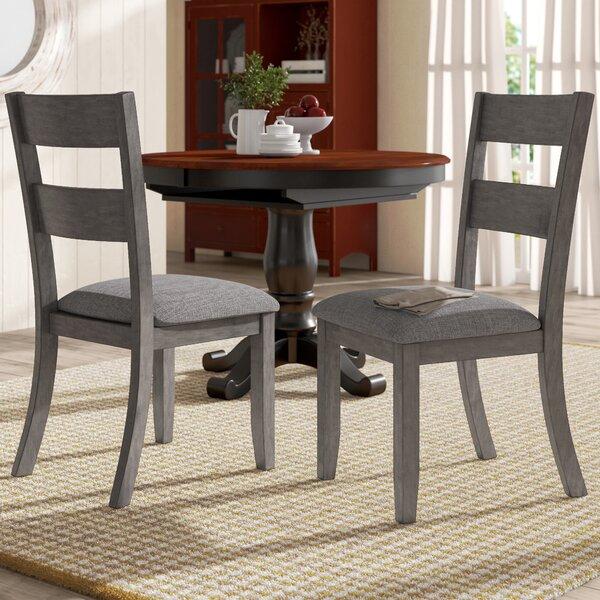 Baumgarten Upholstered Dining Chair (Set of 2) by Gracie Oaks